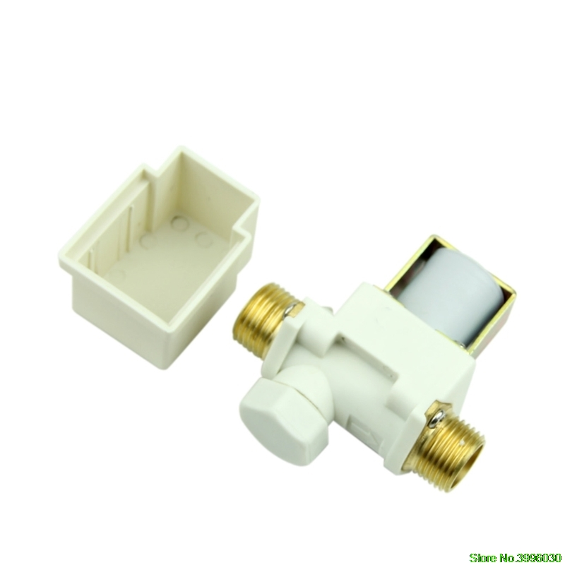 Electric Solenoid Valve 1/2 For New Water Air N/C Normally Closed AC 220V 1 2 electric solenoid valve for water air n c normally closed dc 12v new