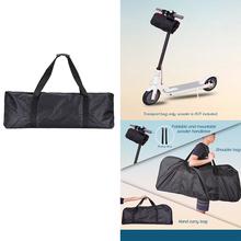 Przenośna torba na skuter dla Xiaomi Mijia M365 skuter elektryczny pojemna torba deskorolka noszenie wiążące pasek torba skuter tanie tanio Inne water-resistant durable handbag scooter handbag xiaomi mijia M365 scooter transport bag skateboard carrying bag