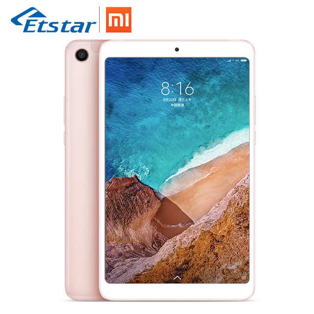 "Original Xiaomi MIPad 4 WiFi LTE 4GB 64GB 8"" 16:9 Mi Pad 4 Snapdragon 660 AIE Core 12.0MP+5.0MP Dual Camera 6000mAh Tab lets PC"