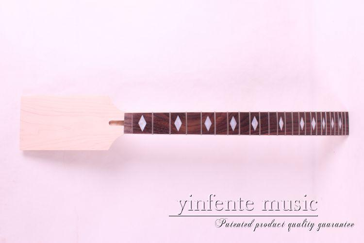 satu Guitar Neck Electric white Fingerboard 24 Fret 25.5 New # - Alat muzik