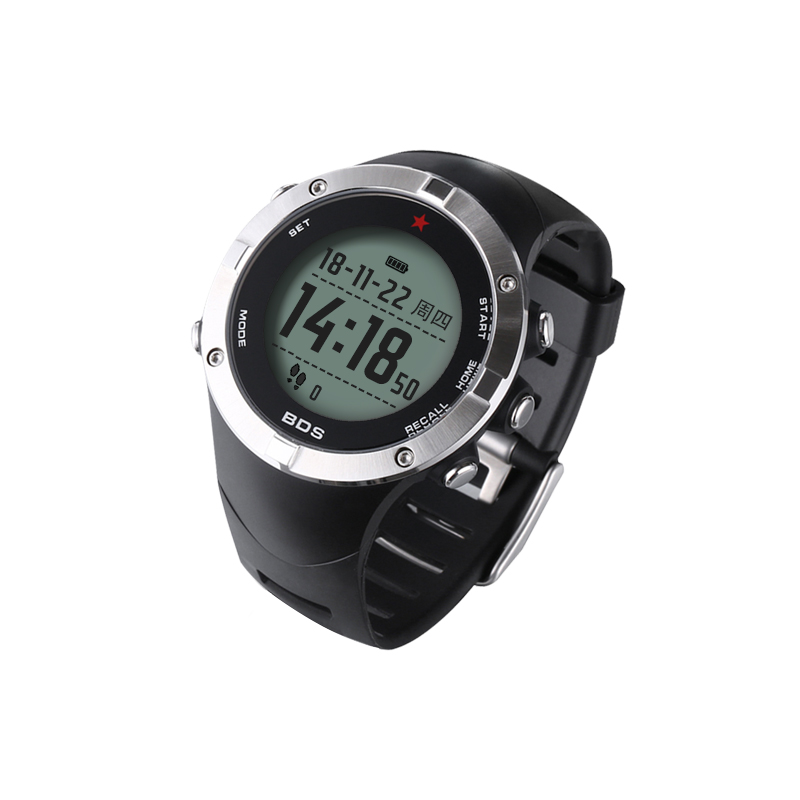 SUNROAD Men s Digital GPS Heart Rate Montoring Watch With Compass Altimeter Barometer Reloj Hombre World