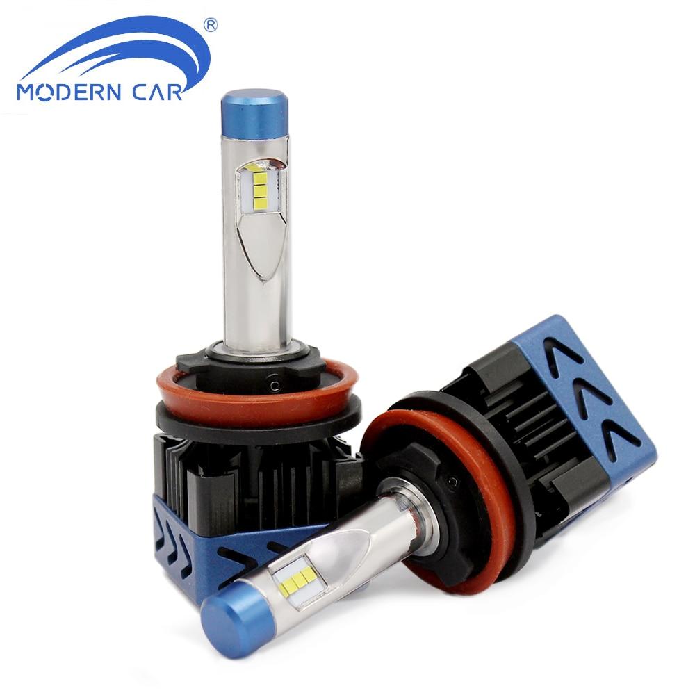 Современный автомобиль m8f H11 H7 H4 H1 H3 H10 <font><b>LED</b></font> Лампочки 9005 9006 9012 <font><b>5202</b></font> 880 <font><b>LED</b></font> автомобильных фар комплект 60 Вт 8000lm туман свет 12 В