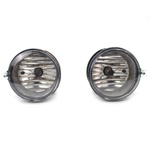 DJSona 2pc Charger Fog Lights with Bulbs 4805857AA 4805857AB for COMPASS CHRYSLER SEBRING CALIBER CHARGER