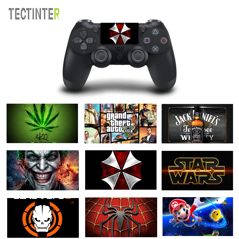 joker-design-touch-pad-pvc-vinyl-skin-cover-for-ps4-controller-for-font-b-playstation-b-font-dualshock-4-pro-slim-decal-sticker