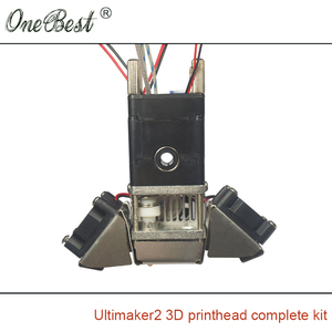 Image 4 - عدة نهاية ساخنة لرأس الطباعة من Ultimaker 2 فوهة بثق كاملة 3/0. أجزاء طابعة ثلاثية الأبعاد 4 مللي متر شحن مجاني