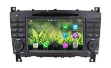 2 DIN Android 5.1.1 Car DVD Player for Benz C Class W203 W209 C200 C220 C230 C240 C250 C270 C280 Radio WiFi BT GPS Quad core