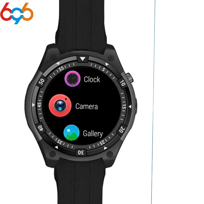 696 <font><b>X100</b></font> Bluetooth Smart Watch Heart rate Music Player Facebook Whatsapp Sync SMS <font><b>Smartwatch</b></font> wifi 3G GPS Fashion Watch PK kw18 image