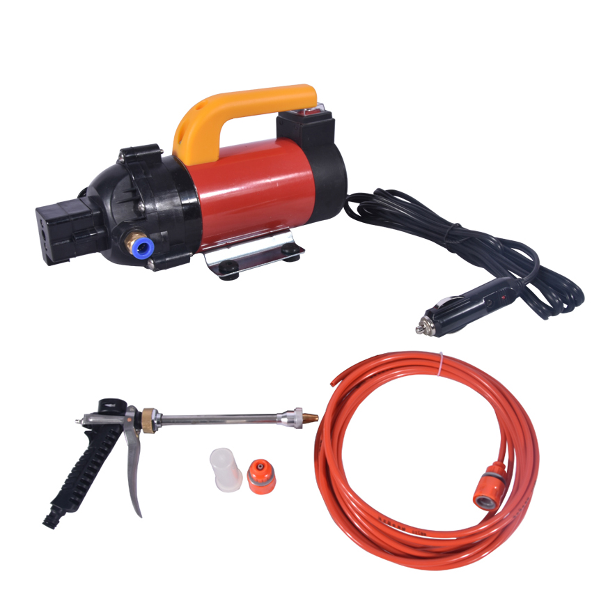 New Arrival Household High - pressure Pump Car Portable Car Washing Machine FL-8028 12V 120W Electric Car Washer 15L 120W 1.3MPA 480l h portable wash device car washing machine cleaning pump household high pressure car wash pump