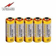 5pcs/lot WAMA  Alkaline 12V 23A Primary Dry 21/23 23GA A23 A-23 RV08 55mAh Electronic
