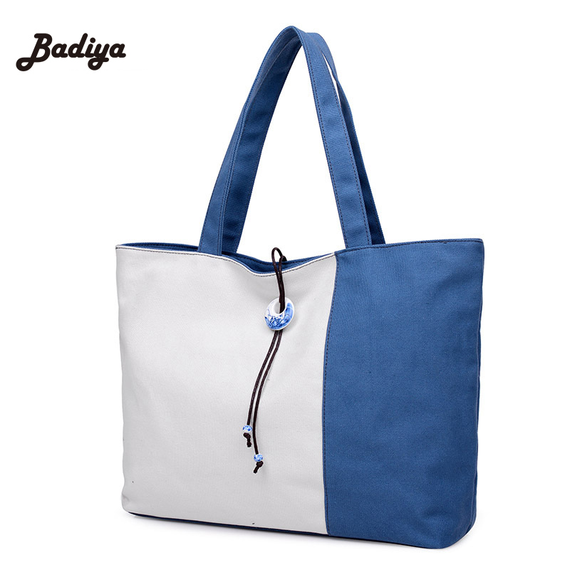 Patchwork Canvas Women S Handbags Shoulder School Bag Las Phone Purse Korean Style Age Casual Tote Bolsos Mujer In Bags From