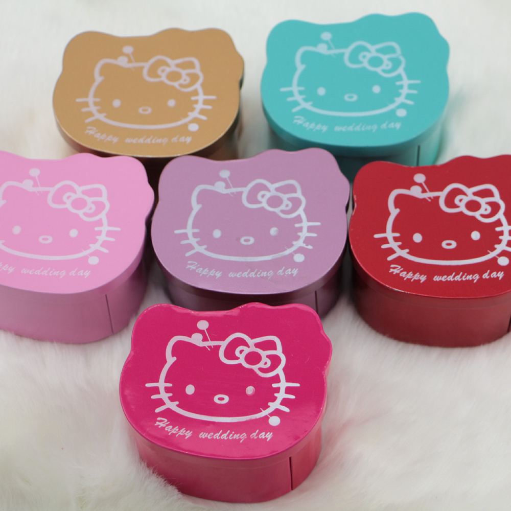 20 Pieces Lot Free Shipping Personalized Kitty Tin
