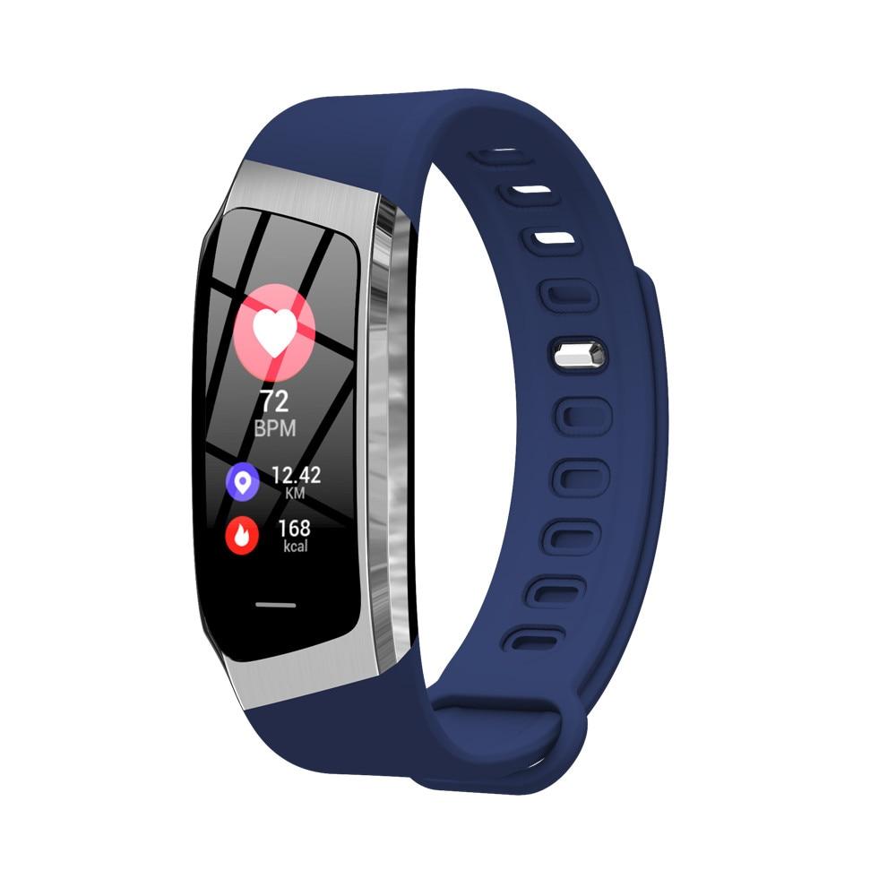 HTB1D9zWBZyYBuNkSnfoq6AWgVXah Greentiger E18 Smart Bracelet Blood Pressure Heart Rate Monitor Fitness Tracker smart watch IP67 Waterproof camera Sports Band