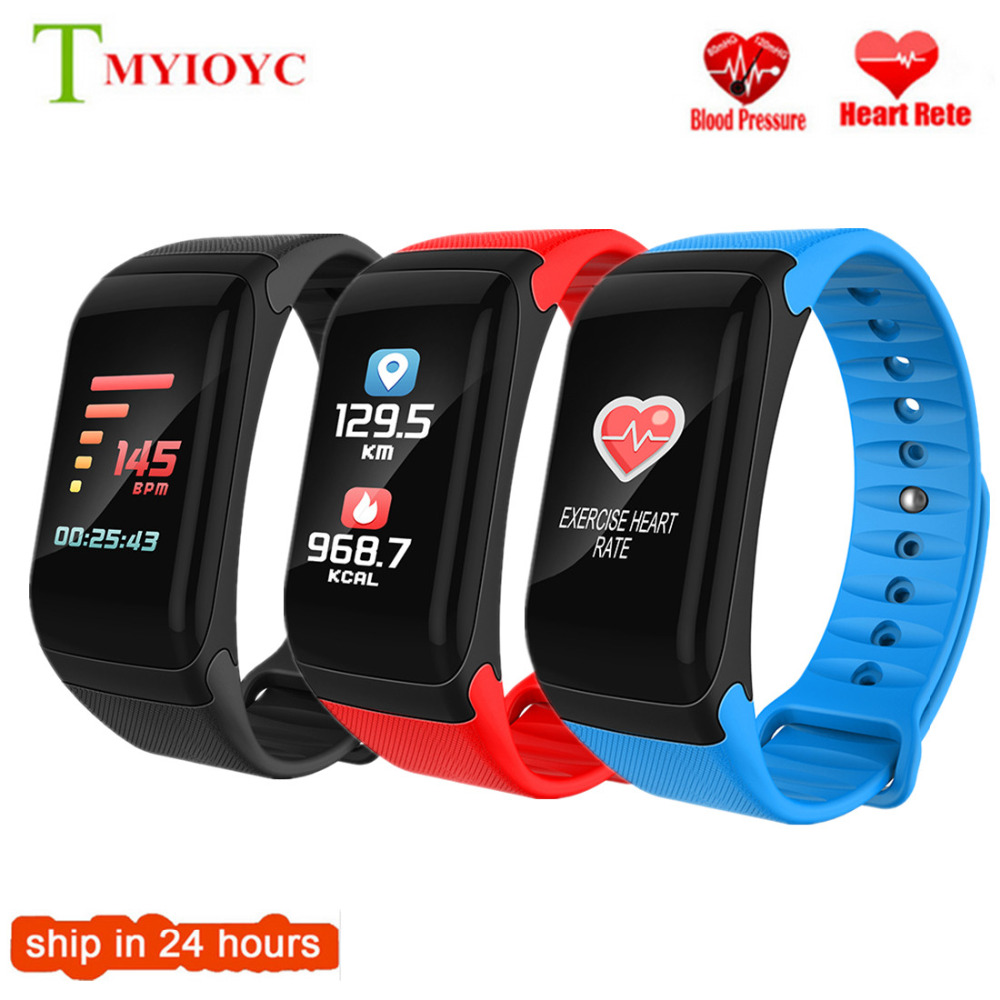 Newest F1 Plus Color Screen Sports Smart Fitless