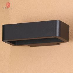 Dynastii nowoczesna aluminiowa LED kinkiet zewnętrzne lampy ścienne wodoodporny oświetlenie kinkiety ścienne dekoracji ogrodu ganek wille Park Patio|Wewnętrzne kinkiety LED|Lampy i oświetlenie -