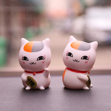 2018 New Car Ornaments Girl Car Accessories Cute Single Cat Teacher Lucky Cat Cartoon Decoration Creative Gift For Girls