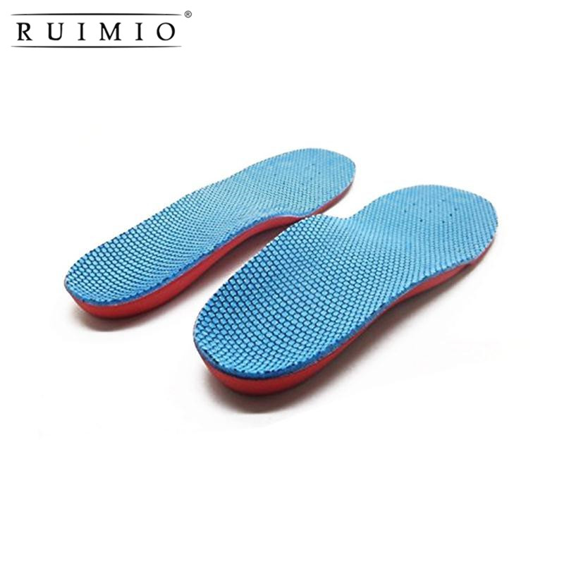 A Pair of Orthotic Arch Support Foot Flatfoot Correction Foot Pain Relief Shoe Children Health Insoles Kids Orthopedic Feet Care