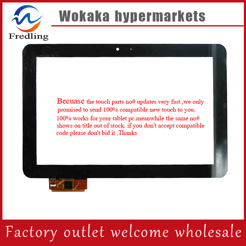 Original New touch screen Prestigio 10.1 PMP7100D 3G Tablet FPDC-0085A-1 touch panel digitizer DNS AirTab M100qg Free Shipping new 10 1 hd led laptop screen for b101ew01 v1 led for netbooks