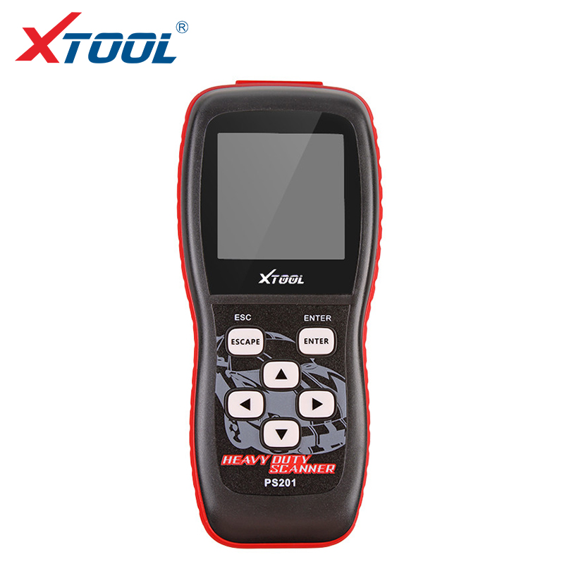 100% Original Xtool PS201 Heavy Duty Code Reader scanner OBDII/EOBD/CANBUS Compliant Heavy truck Vehicles Diesel Tool free ship  цены