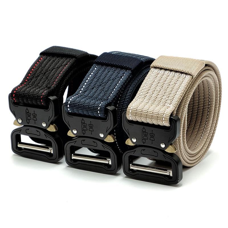 Metal Buckle Tactical Gear Heavy Duty Belt Nylon Swat Molle Padded Patrol Waist Belt 6 Color Tactical Hunting Accessories 2018 Бюстгальтер