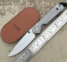 Large Sebenza 25 Folding Knife D2 Blade TC4 Titanium Handle Knife Tactical Camping Survival Pocket Knives EDC Hunting Tools 21CM