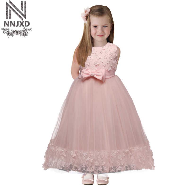 f2c673c800ba7a3 Брендовые Детские платья для праздничная одежда для девочек детская одежда  для девочек в цветочек свадебное платье