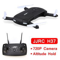 INKPOT Foldable Remote Control Drone JJRC H37 Selfie Quadcopter With 720P Wifi FPV Camera RC Quadrocopter Dron Altitude Hold