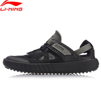 Li Ning Men WATER 2018 Outdoor Aqua Shoes Breathable Wearable Beach LiNing Light Weight Water Sandals Sneakers AHLN001 XYD123