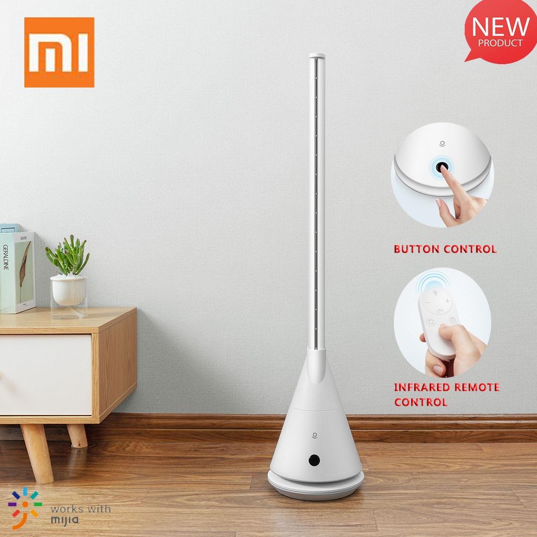 Xiaomi Rosou SS4 Intelligent Leafless Pedestal Fan Mijia APP Control 11 Speed Wind Timing Household Fan