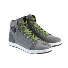 SCOYCO Motorcycle Boots Men Road Street Gray Casual Shoes