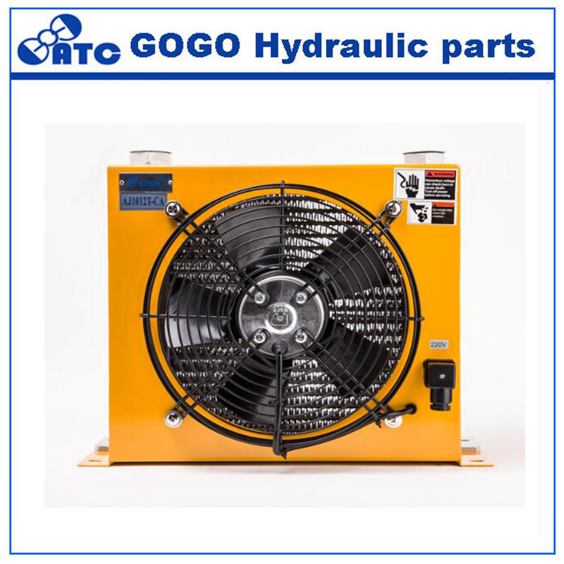 Children Excavator Hydraulic Oil Cooling Air Cooler for hydraulic station AH1012-in Valve from Home Improvement    1
