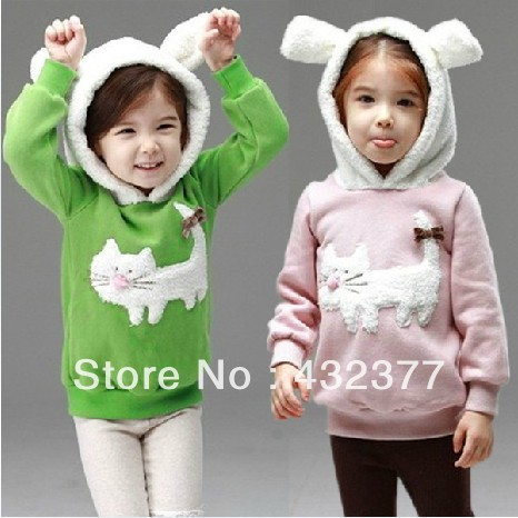 clearance-Autumn-and-winter-children-fashion-cute-rabbit-pattern-sweater-kids-outerwear-coats-girls-clothing-1