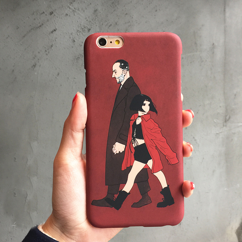 PC Leon - The Professional Plastic Hard Case For iphone6 6s/6plus 6splus 7 7Plus back covers Movie Pattern Free Shipping