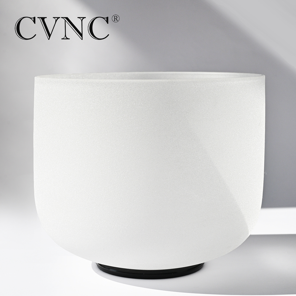 CVNC  10  Note C Root Chakra Frosted Quartz Crystal Singing BowlCVNC  10  Note C Root Chakra Frosted Quartz Crystal Singing Bowl