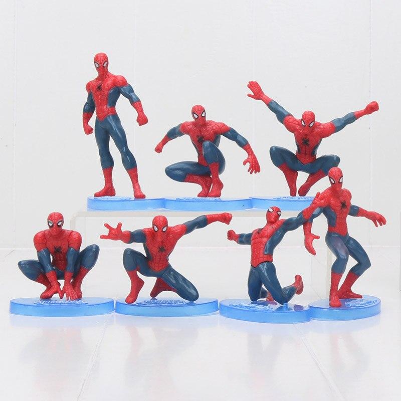 7pcs-set-6-9cm-font-b-marvel-b-font-avengers-the-amazing-spiderman-toys-pvc-action-figures-collectible-model-toys