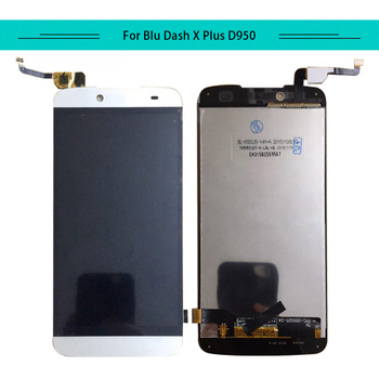 Tested 3pcs/lot  For Blu Dash X Plus D950 Full Lcd Display Aseembly With Touch Screen Glass Digitizer Free Shipping