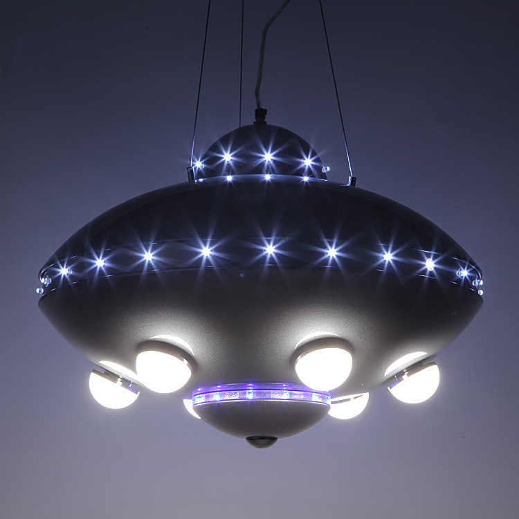 Ufo aircraft chandelier childrens room lamps bedroom lamps colorful ufo aircraft chandelier childrens room lamps bedroom lamps colorful remote control ufo spaceship chandelier in pendant lights from lights lighting on aloadofball Images