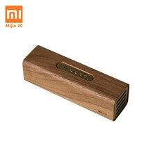 الأصلي Xiaomi النحاس Woodism بلوتوث المتكلم الجوز الأسود الخشب اثنين قناة تصميم المنزل الذكي