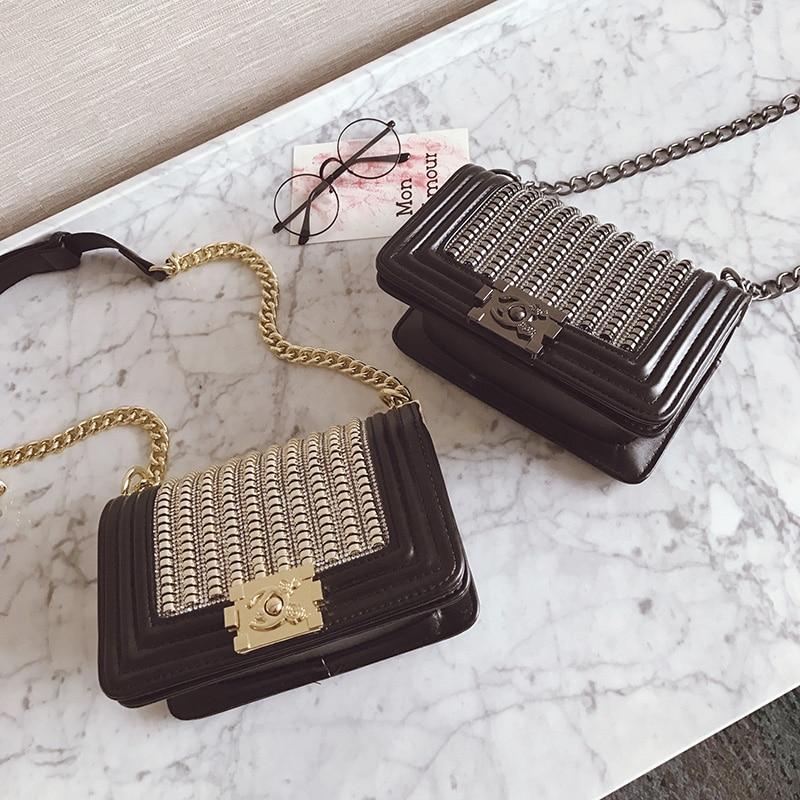 2018 Luxury Handbags Women Bags Designer Brand Chain Evening Clutch Bag Female Messenger Crossbody Shoulder Bags Channels Women