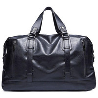 Designer Handbags Men S 16 Inch Laptop Bag PU Leather Messenger Bag Men Travel School Bags