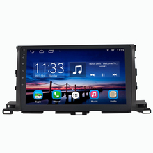 1024*600 Android Car Audio Video Player Stereo Suit to Toyota Highlander 2015 GPS Nav Support Wifi BT,Smartphone Mirror-link