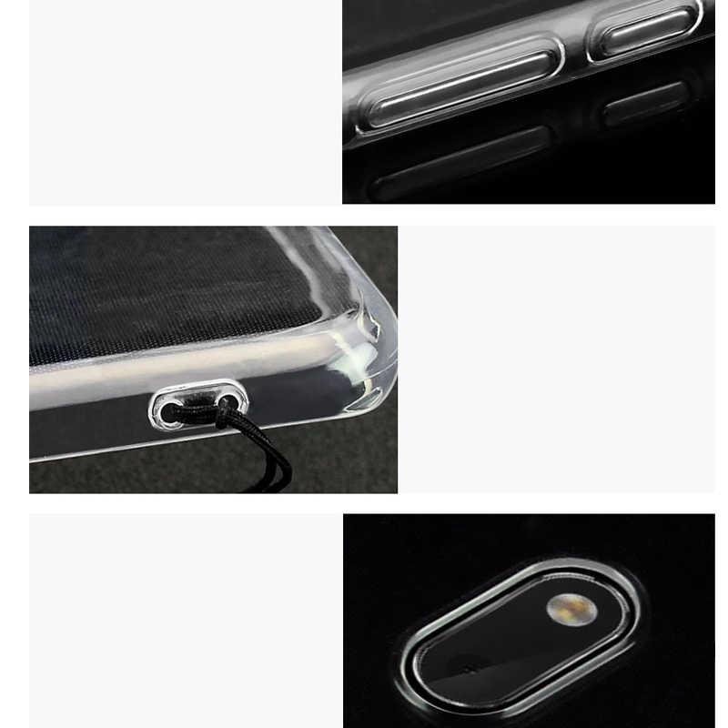الهاتف جراب لهاتف Motorola موتو C G5s G5 E4 G4 G6 زائد E5 اللعب X4 واضحة شفافة لينة هلام TPU سيليكون رقيقة الكريستال الغطاء الخلفي