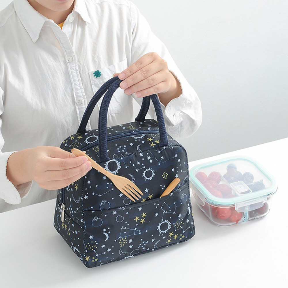 Bolsa Termica Lunch Bag 2019 NEW Fashion New Portable Waterproof Thickness Picnic Lunch Bag Office Loncheras Para Mujer Food Bag