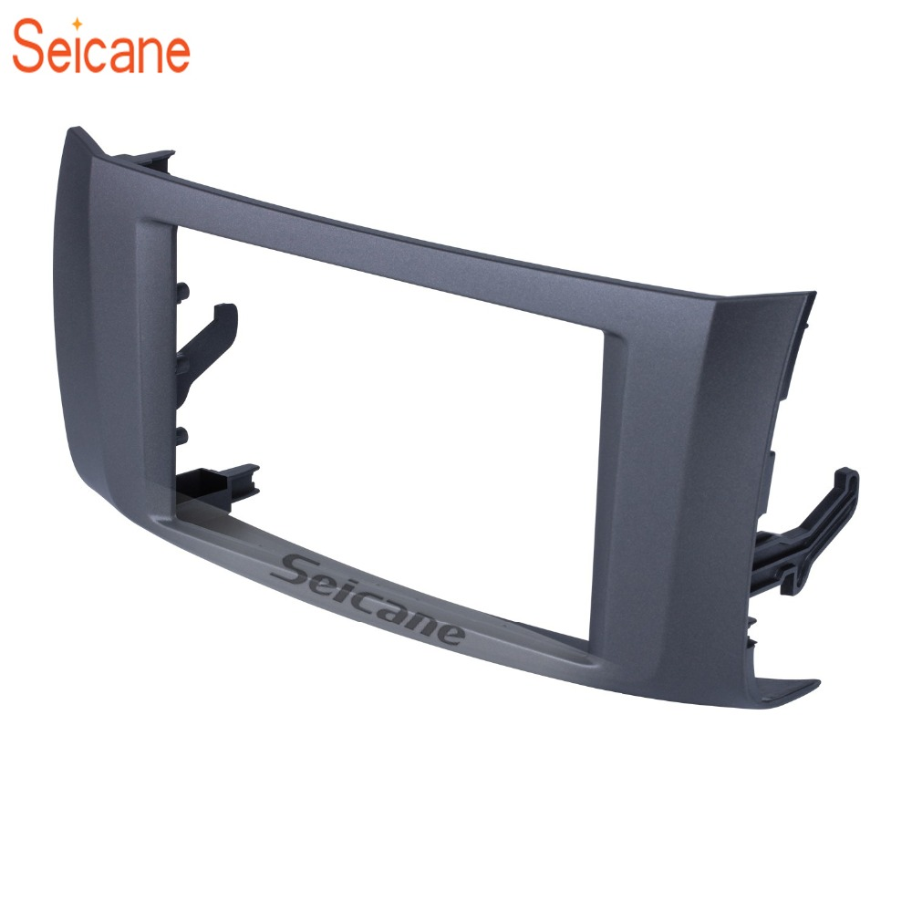 Seicane 2Din 178*100mm Car Radio Fascia Frame Refitting Plate Panel Dashboard For 2012 Nissan Sylphy Sentra Pulsar Fascias     - title=