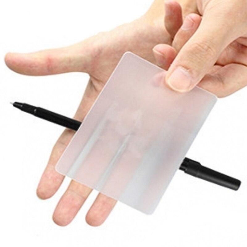 1pcs LUBORS LENS Gimmick Card Magic Tricks Close Up Magic Gimmick Easy To Do Magic For Beginner Magician Trick Magic Tool