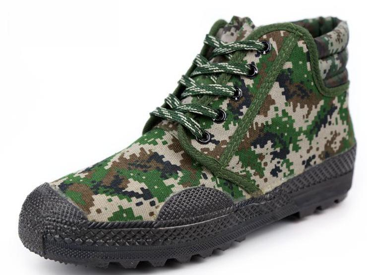 Work Shoes Men 39 s Women 39 s Camouflage Rubber Shoes Training Anti slip Wear resisting Waterproof Breathable Soft in Men 39 s Casual Shoes from Shoes