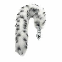 Buttplug Tails Fox Plug Metal For Anal Toys