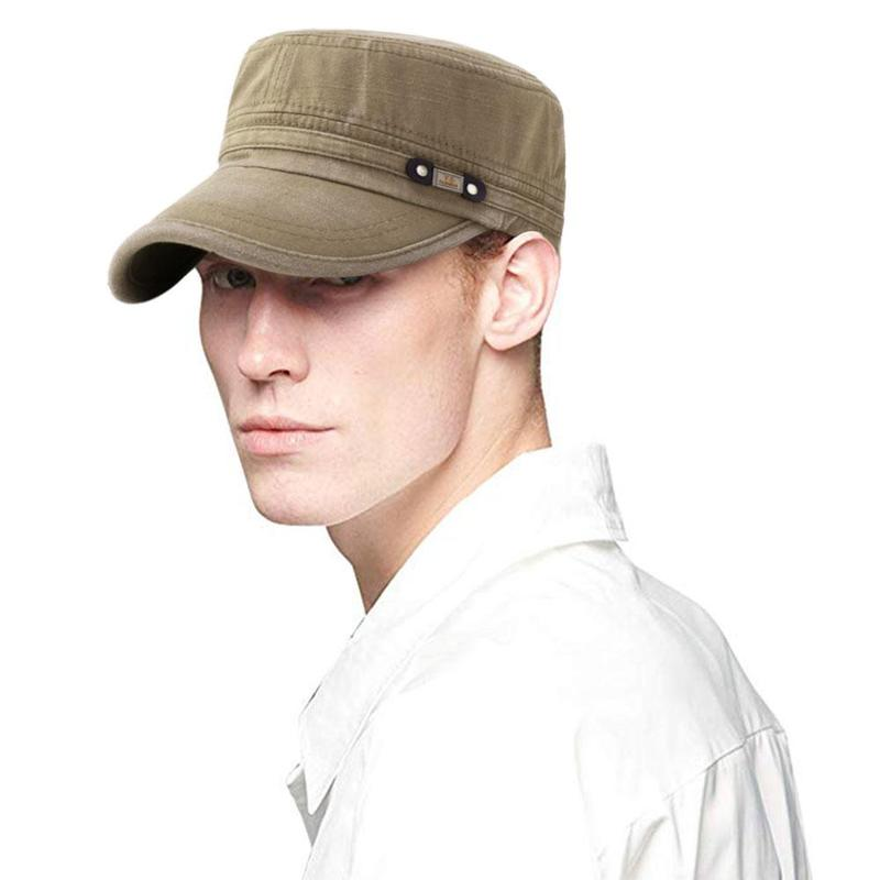 Classic Army Plain Hat Cadet Combat Field Military Cap Style Patrol Baseball Cap