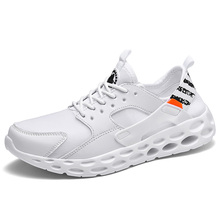 Mesh Men Casual Shoes Lace-up Sport Outdoor Running Lightweight Comfortable Breathable 39-47 Walking Sneakers недорого
