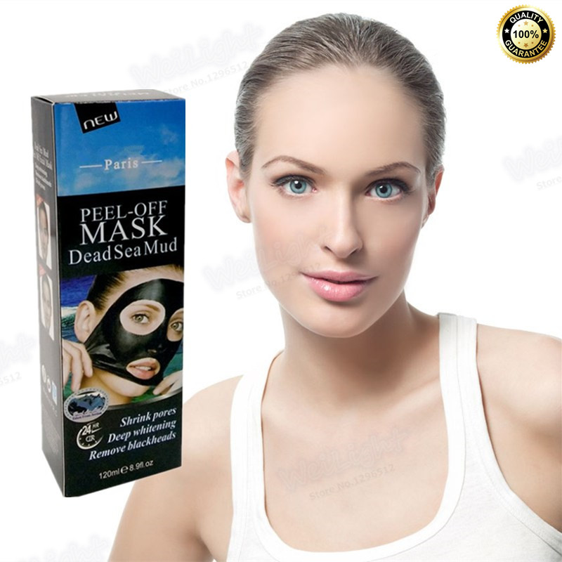 Dead sea mud Facial Mask Remover Peeling Peel Off Black Head Acne Treatments Oil control Moisture Whitening Shrink Pores Mask