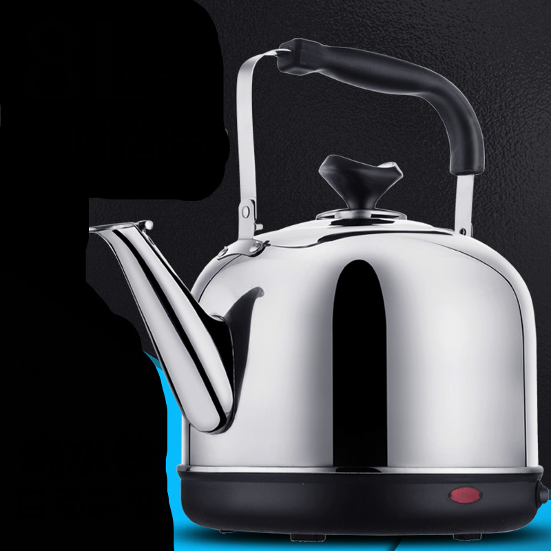 Electric kettle stainless steel capacity  home insulated with automatic power cut tea open Safety Auto-Off Function cukyi electric kettles household tea pot set 1 0l capacity stainless steel safety auto off function black